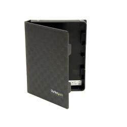 StarTech.com - Paquete 3 Cubierta Protectora Funda de Plástico Disco Duro 2,5in Pulgadas - Forro - Negro