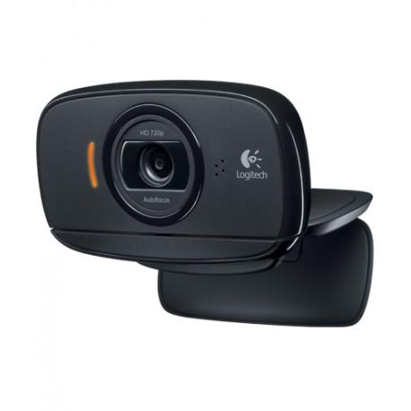 Logitech - B525 HD 2MP 1280 x 720Pixeles USB 2.0 Negro cámara web