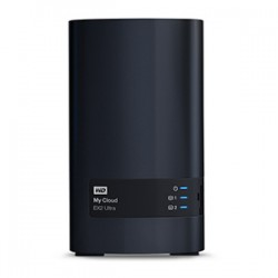 Western Digital - My Cloud EX2 Ultra Ethernet Escritorio Negro NAS - 20138135