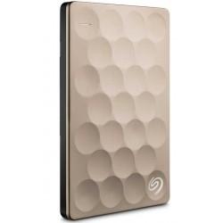 Seagate - Backup Plus Ultra Slim 2TB 2000GB Oro disco duro externo