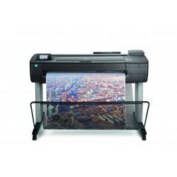 HP - Designjet T730 impresora de gran formato Inyección de tinta térmica Color 2400 x 1200 DPI A0 (841 x 1189 mm) Wifi