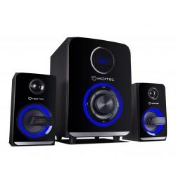 Hiditec - H500 conjunto de altavoces 2.1 canales 50 W Negro