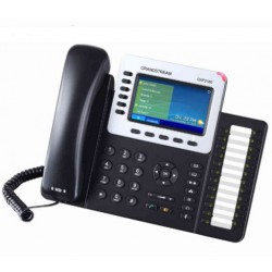 Grandstream Networks - GXP2140 Terminal con conexión por cable 4líneas LCD Negro teléfono IP