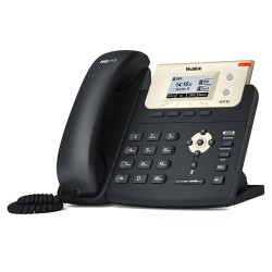 Yealink - SIP-T21P E2 teléfono IP Negro Terminal con conexión por cable LCD