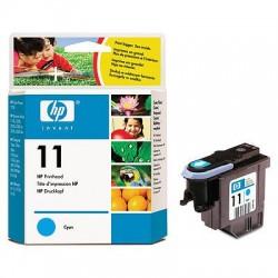 HP - Cabezal de impresión 11 cian