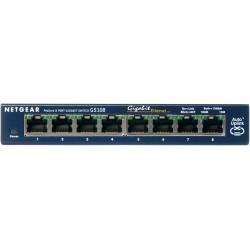 Netgear - ProSafe 8-Port Gigabit Desktop Switch Unmanaged network switch