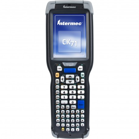 "Intermec - CK71 3.5"" 480 x 640Pixeles Pantalla táctil 584g Negro ordenador móvil industrial - 22123985"