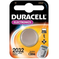 Duracell - CR2032 Litio 3V batería no-recargable