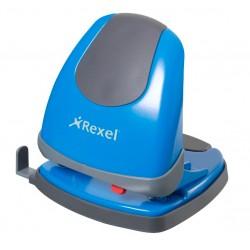 Rexel - Perforadora sin esfuerzo Easy Touch azul