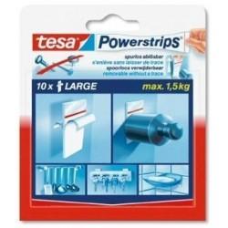 TESA - 58060 Blanco 10pieza(s) cinta adhesiva de papelería y oficina