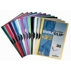 Durable - D220001 PVC Negro archivador