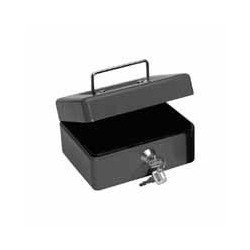 Q-CONNECT - KF02601 Negro caja para dinero en efectivo
