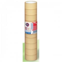 EUROCEL - PP2000 10m Transparente 100pieza(s) cinta adhesiva de papelería y oficina