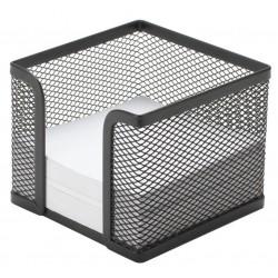 Q-CONNECT - KF00878 Plaza Metal Negro dispensador de papel para notas