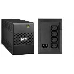 Eaton - 5E650I sistema de alimentación ininterrumpida (UPS) 650 VA 4 salidas AC Línea interactiva