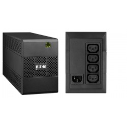 Eaton - 5E500i sistema de alimentación ininterrumpida (UPS) 500 VA 4 salidas AC Línea interactiva