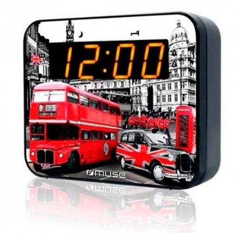 Muse - M-165 LD Reloj Digital radio