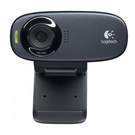 Logitech - C310 5MP 1280 x 720Pixeles USB Negro cámara web