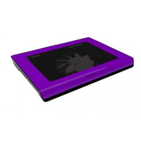 "Approx - APPNBC06 15.6"" 1500RPM Negro, Púrpura almohadilla fría"