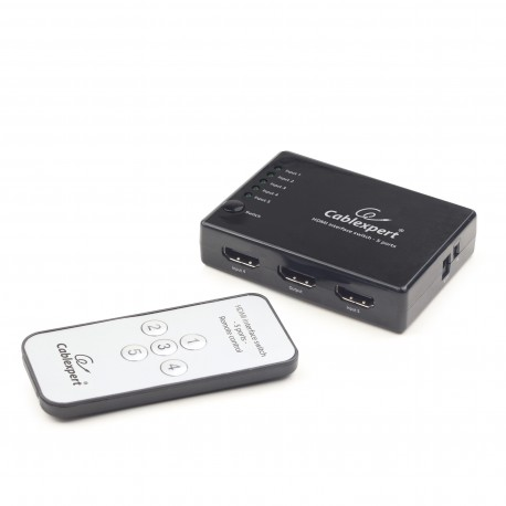 Gembird - DSW-HDMI-53 HDMI interruptor de video