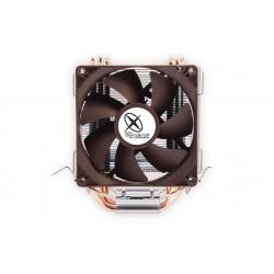 CoolBox - VENQUATW3P Procesador Enfriador 9,2 cm Marrón