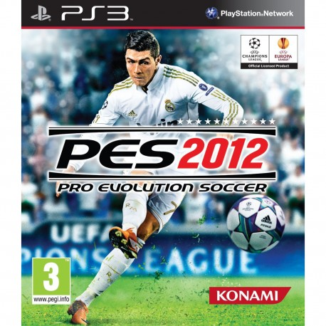 Konami - Pro Evolution Soccer 2012, PS3 PlayStation 3 Inglés vídeo juego