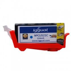 iggual - Cartucho Reciclado Canon CLI526C Cian