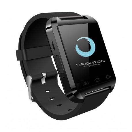 """Brigmton - BWATCH-BT2N 1.44"""" Negro reloj inteligente"""