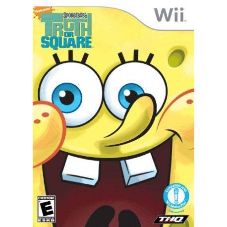 THQ - SpongeBob: Truth or Square Nintendo Wii Español vídeo juego