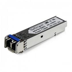 StarTech.com - Módulo Transceptor de Fibra Monomodo SFP Gigabit DDM LC Compatible Cisco Mini GBIC - Transceiver - 20km