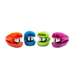 Rexel - Minigrapadora Buddy colores surtidos