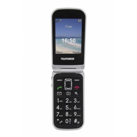 "Telefunken - Cosi TM200BE Black 2.6"" 97g Negro Teléfono para personas mayores"
