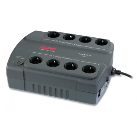 APC - Back-UPS ES 400VA 230V Spain 400VA sistema de alimentación ininterrumpida (UPS)