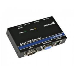 StarTech.com - Extensor de vídeo VGA a través de CAT5, con 4 puertos - 150 m