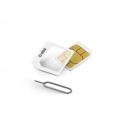 SBS - TENANOSIMADAPTER SIM card adapter adaptador para tarjeta de memoria sim / flash