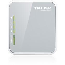 TP-LINK - TL-MR3020 router inalámbrico Banda única (2,4 GHz) Ethernet rápido 3G 4G Gris, Blanco