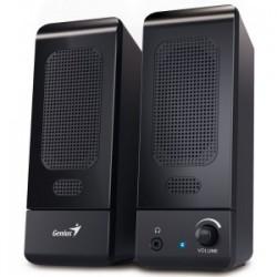 Genius - SP-U120 altavoz De 1 vía 3 W Negro Alámbrico USB/3,5mm