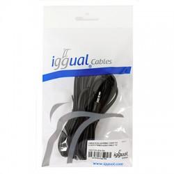 iggual - Cable Audio Estereo 3.5M/M 5 Metros