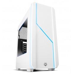 NOX - NXHUMMERMCW carcasa de ordenador Midi-Tower Blanco