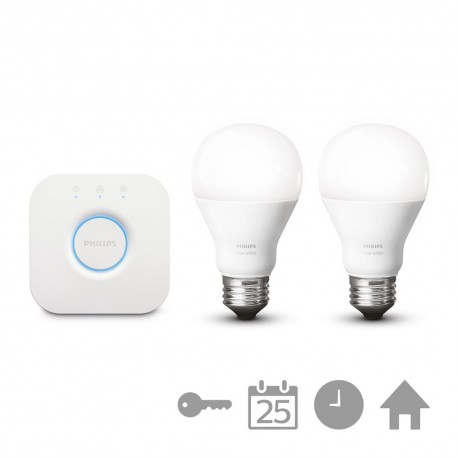 Philips - hue White Kit de inicio E27 8718696449554