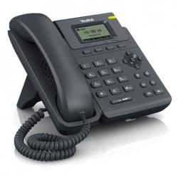 Yealink - SIP-T19P Negro Terminal con conexión por cable LCD teléfono IP
