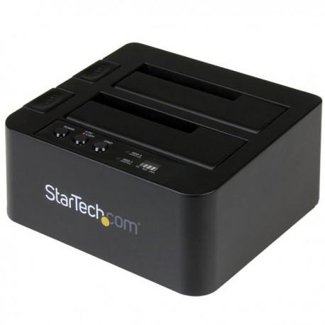 """StarTech.com - Base de Conexión Autónoma USB 3.1 (10Gbps) para SSD/DD SATA de 2,5"""" y 3,5"""" - Dock con Función de Cop"""