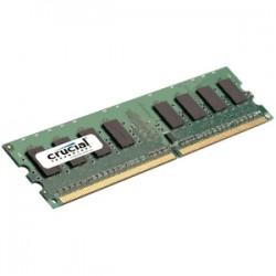 Crucial - 1GB DDR2 UDIMM módulo de memoria 800 MHz