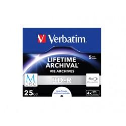 Verbatim - M-Disc 4x BD-R 25GB 5pieza(s)