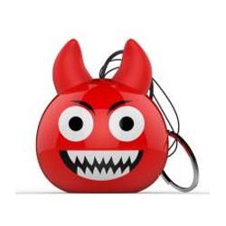 Celly - MINISPEAKER03 altavoz portátil Mono portable speaker Rojo