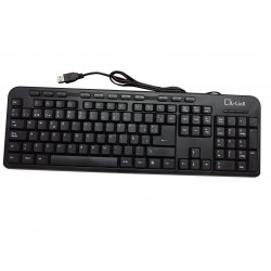 L-Link - LL-KB-628M-USB teclado QWERTY Español Negro