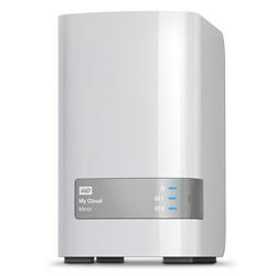 Western Digital - My Cloud Mirror 12TB Ethernet Blanco dispositivo de almacenamiento personal en la nube