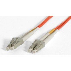 StarTech.com - Cable Patch de Fibra Duplex Multimodo 50/125 1m LC - LC