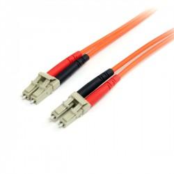 StarTech.com - Cable de Red de 3m Multimodo Dúplex Fibra Óptica LC-LC 62,5/125 - Patch Duplex