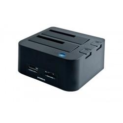 B-Move - BM-HDF01 USB 3.0 (3.1 Gen 1) Type-B Negro estacion base para hdd/ssd